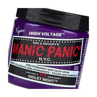 マニックパニック マニックパニック カラークリーム ヴァイオレットナイトの画像