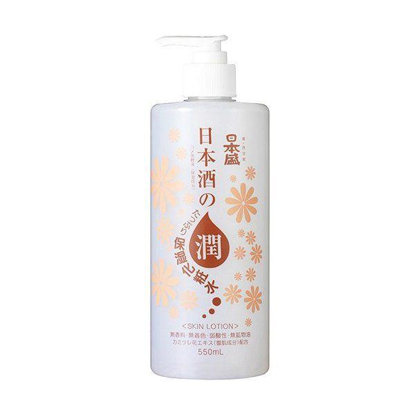 日本盛の日本酒のたっぷり保湿化粧水 500mlに関する画像1