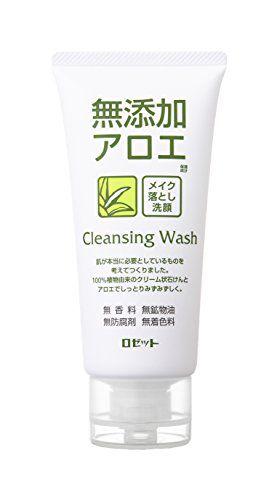 ロゼットの無添加アロエ メイク落とし洗顔フォーム  120gに関する画像1