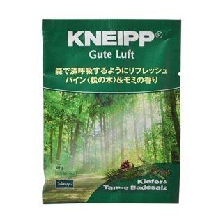 クナイプ クナイプ グーテルフト バスソルト パイン<松の木>&モミの香り 40gの画像