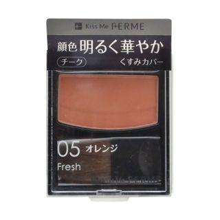 キスミー フェルム フェルム ブライトニングチーク 05 オレンジの画像