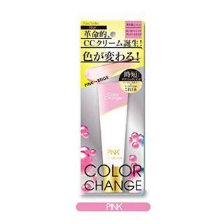 ピュアスマイル ピュアスマイル カラーチェンジCCクリーム ピンク CC01(化粧下地)の画像