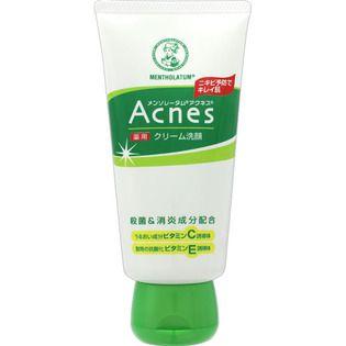 メンソレータムのロート製薬メンソレータム アクネス 薬用クリーム洗顔130g(医薬部外品)に関する画像1