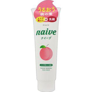 ナイーブのクラシエホームプロダクツナイーブ メイク落とし洗顔フォーム(桃の葉エキス配合)200gに関する画像1