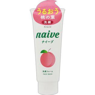 ナイーブ クラシエホームプロダクツナイーブ 洗顔フォーム(桃の葉エキス配合)130gの画像