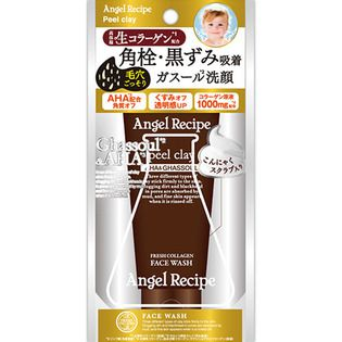 ステラシード コスメカンパニーエンジェルレシピ ピールクレイ 洗顔フォーム90gの画像