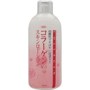 渋谷油脂 渋谷油脂 SOCコラーゲン配合スキンローション 500mlの画像