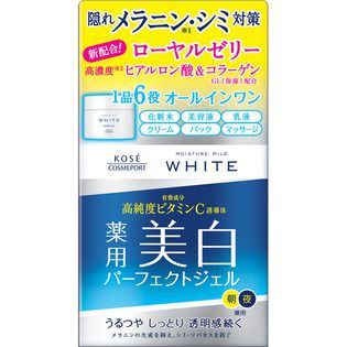 モイスチュアマイルド コーセーモイスチュアマイルド ホワイト パーフェクトジェル100g(医薬部外品)の画像