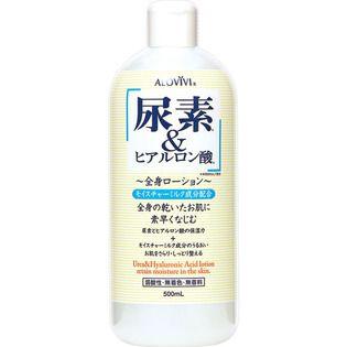 アロヴィヴィ 東京アロエアロヴィヴィ 尿素&ヒアルロン酸全身ローション500MLの画像