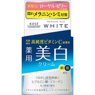 モイスチュアマイルド コーセーモイスチュアマイルド ホワイト クリーム55g(医薬部外品)の画像