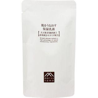 肌をうるおす保湿スキンケア 松山油脂肌をうるおす保湿乳液 詰替30mlの画像