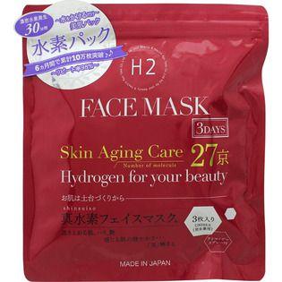 null Kyo Tomo真水素フェイスマスク 3DAYS3枚入の画像