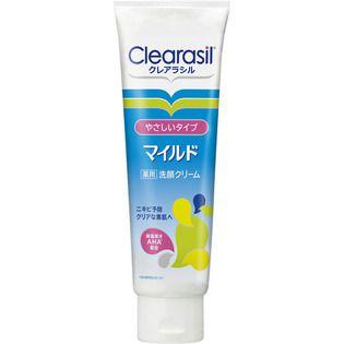 クレアラシル レキットベンキーザー・ジャパン クレアラシル 薬用洗顔フォーム マイルドタイプ 120g(医薬部外品)の画像