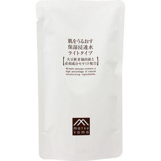 肌をうるおす保湿スキンケア 松山油脂肌をうるおす保湿浸透水ライトタイプ 詰替用95mlの画像