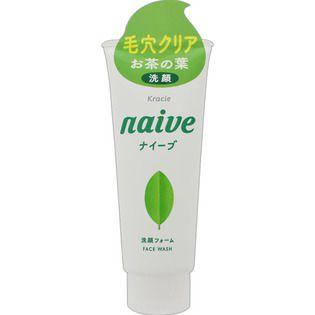 ナイーブ クラシエホームプロダクツナイーブ 洗顔フォーム(お茶の葉エキス配合)130gの画像