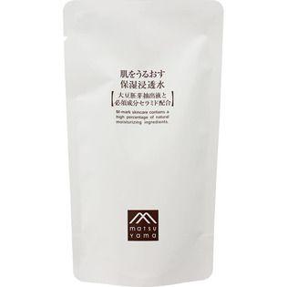 肌をうるおす保湿スキンケア 松山油脂肌をうるおす保湿浸透水 詰替用120mlの画像