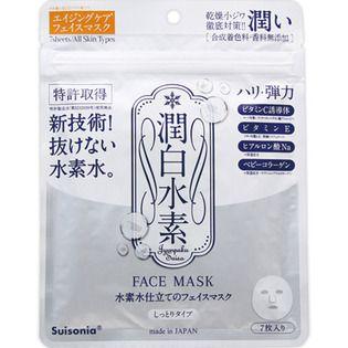 null クロスピィー潤白水素フェイスマスク(潤いマスク)7枚入りの画像