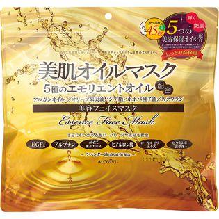 アロヴィヴィ 東京アロエアロヴィヴィ 美肌オイルマスク45枚入の画像