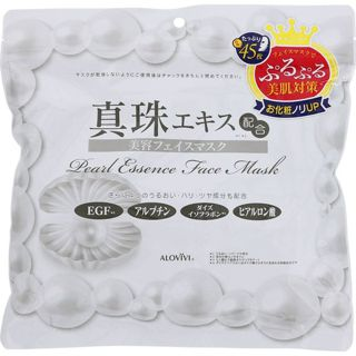 アロヴィヴィ 東京アロエアロヴィヴィ 真珠フェイスマスク450Gの画像