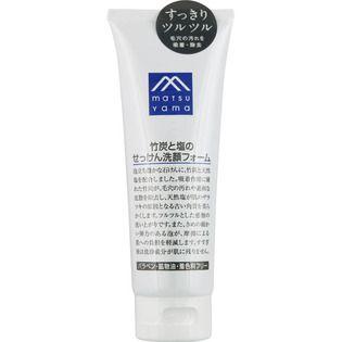 M-mark series 松山油脂M-mark 竹炭と塩のせっけん洗顔フォーム120gの画像