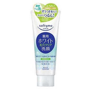 ソフティモ コーセーソフティモ 薬用洗顔フォーム(ホワイト)スクラブイン150g(医薬部外品)の画像