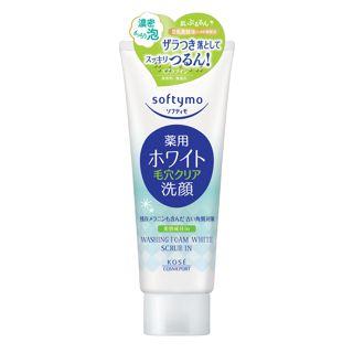 ソフティモ 薬用洗顔フォーム(ホワイト) スクラブイン <医薬部外品> 150gの画像