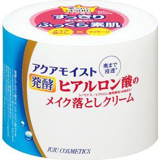 ジュジュのジュジュ化粧品アクアモイスト 発酵ヒアルロン酸 保湿メイク落としクリーム160gに関する画像1