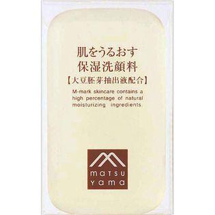 肌をうるおす保湿スキンケア 松山油脂肌をうるおす保湿洗顔料90gの画像