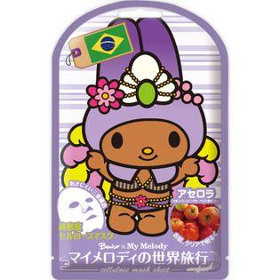null ベニコ×マイメロディ 世界旅行マスクシートB(ブラジル)20MLの画像