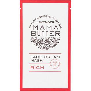 ママバター ビーバイイーママバター フェイスクリームマスク リッチ1枚入の画像