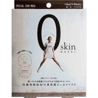 ジャパンギャルズのジャパンギャルズゼロスキン スペシャルケアマスク4枚入に関する画像1