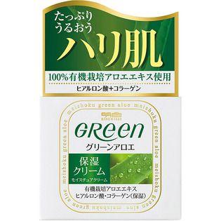明色のグリーン モイスチュアクリーム 48gに関する画像1