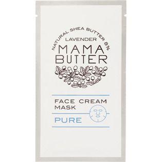 ママバター ビーバイイー ママバター フェイスクリームマスク ピュア 1枚入の画像