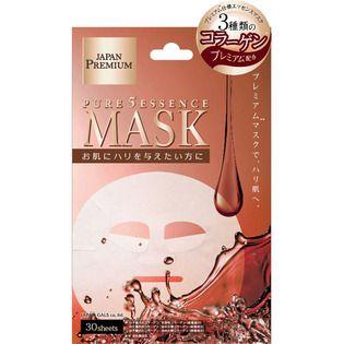 ジャパンギャルズのジャパンギャルズピュア5エッセンスマスク(CO)30枚入に関する画像1