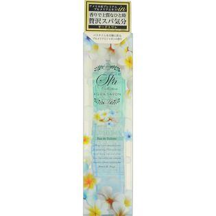 アクアシャボン ビュークイルアクア シャボン スパコレクション プルメリアスパの香り オードトワレ80mLの画像