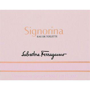 サルヴァトーレ フェラガモ ウエニ貿易サルヴァトーレ フェラガモ シニョリーナ オーデトワレ30mLの画像