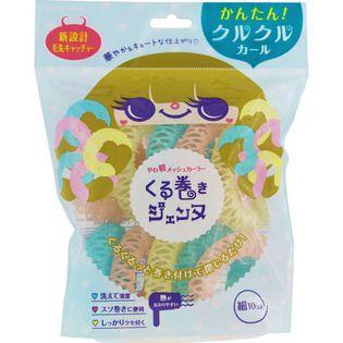 null ラッキーコーポレーションくる巻きジェンヌ (細) ピンク/ブルー/イエローの画像
