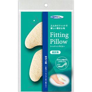シューズフィットドットコム 村井フィッティング ピロー ゆび上枕 Free アイボリー甲枕の画像