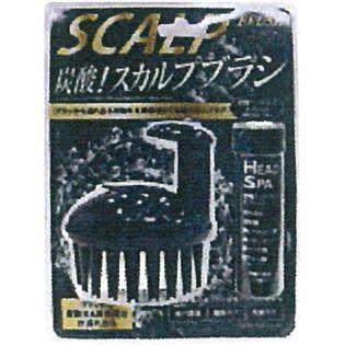 ジャパンギャルズのジャパンギャルズ炭酸スカルプブラシ(B)ブラックに関する画像1