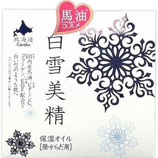 北海道Coroku 小六Coroku 白雪美精 保湿オイル(顔・からだ用)100mlの画像