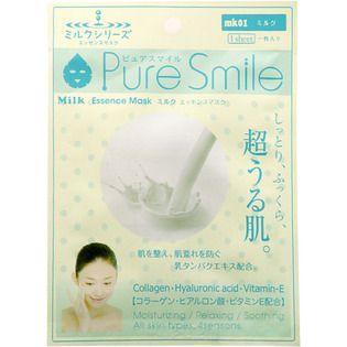 サンスマイル サンスマイルピュアスマイル エッセンスマスク mk01ミルク1枚の画像