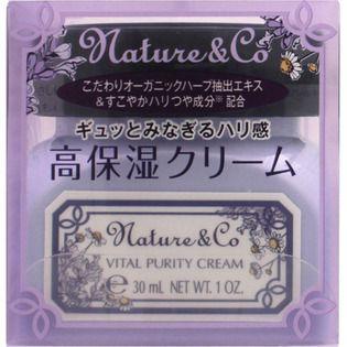 Nature&Co コーセー ネイチャー アンド コー バイタルピュアリティ クリーム 30gの画像