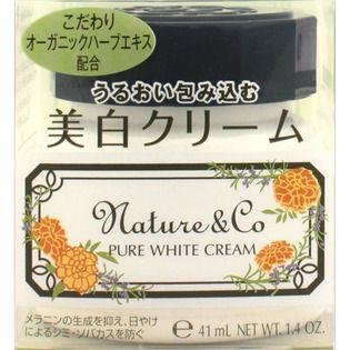 Nature&Co コーセー ネイチャー アンド コー ピュアホワイト クリーム 40gの画像