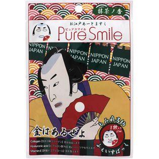ピュアスマイルのサンスマイルピュアスマイル お江戸アートマスク もみ麻呂 御茶ノ香1枚に関する画像1