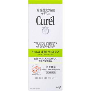 キュレル 花王 キュレル 皮脂トラブルケア 泡洗顔料 150ML(医薬部外品)の画像
