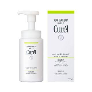 キュレル キュレル 皮脂トラブルケア 泡洗顔料 <医薬部外品> 150mlの画像