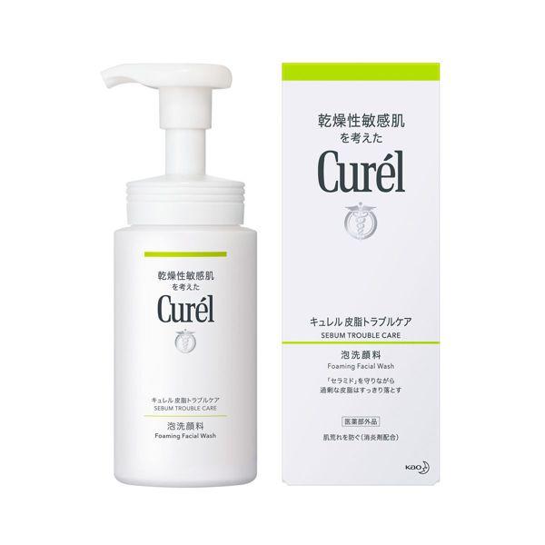 キュレルのキュレル 皮脂トラブルケア 泡洗顔料 <医薬部外品> 150mlに関する画像1