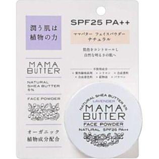 ママバター ビーバイイー ママバター フェイスパウダー SPF25 PA++の画像