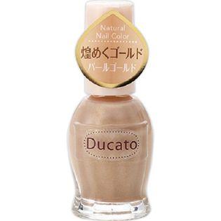 デュカート シャンテイ デュカート ナチュラルネイルカラーN 11 パールゴールドの画像