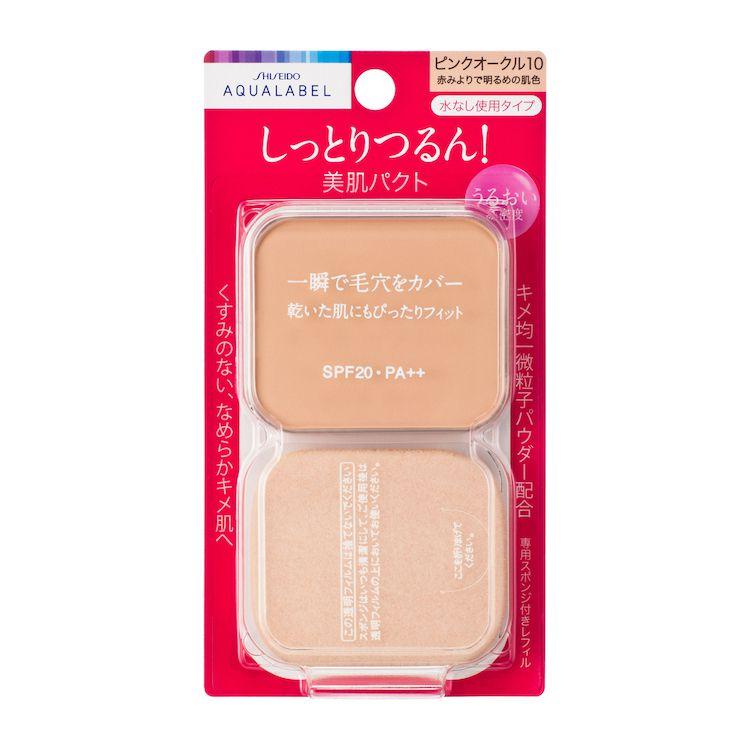 資生堂アクアレーベル モイストパウダリー (レフィル) ピンクオークル10PO10のバリエーション4